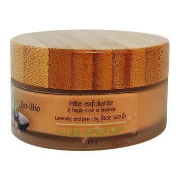 Soi-Bio v201er 100 g Lavender & Pink Clay Face Scrub