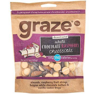 Graze WHITE CHOCOLATE RASPBERY CHEESECAKE