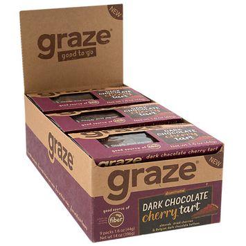 Graze Dark Chocolate Cherry Tart