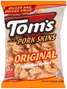 tom's® original chicharrones fried pork skins