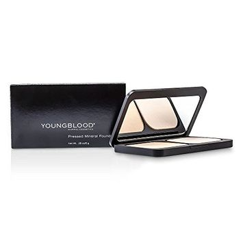 Youngblood by Youngblood Pressed Mineral Foundation - Barely Beige -8g/0.28oz for WOMEN -(Package Of 4)