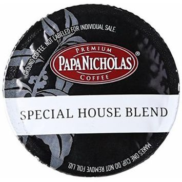 PapaNicholas Coffee Single Serve Coffee Cups Fits Keurig K Cup Brewers, Special House Blend, 12 Count