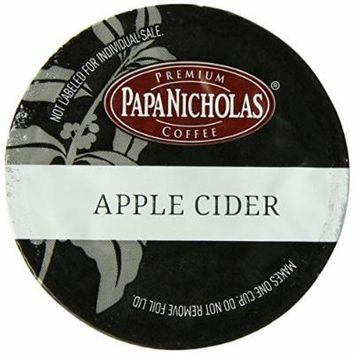 PapaNicholas Coffee Single Serve Coffee Cups Fits Keurig K Cup Brewers, Apple Cider, 12 Count