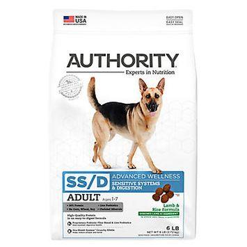 Authority® Advanced Wellness Sensitive Sytems Digestions Adult Dog Food - Lamb & Rice