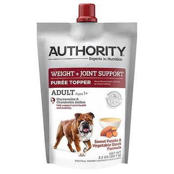 Authority® Weight & Joint Support Pure Dog Food Topper - Sweet Potato & Vegetable