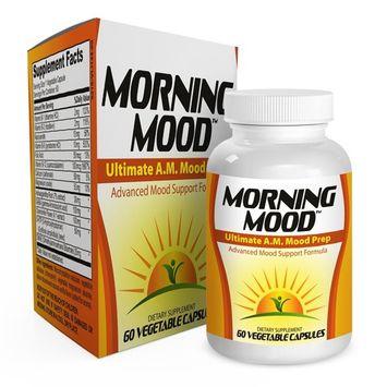 Morning Mood Support Supplement Booster Pills - Vitamins - Natural Mood Health Supplements - Complex - Formula - 60 Capsules