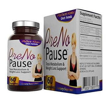 Elevate Recovery PreNoPause Menopause Weight Loss and Metabolism Support Supplement for Women - 60 Capsules