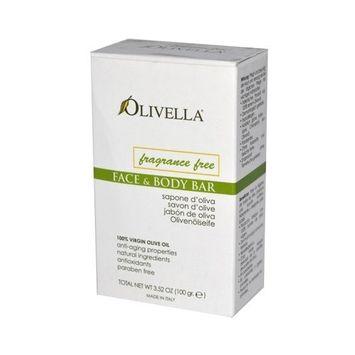 Olivella, Soap Bar Olive Oil Frgrnc, 3.52 OZ by Olivella