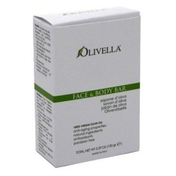 Olivella Soap Bar 5.29oz Face & Body (6 Pack) by Olivella
