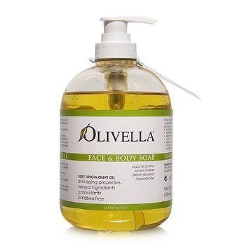 Olivella Liquid Soap 16.9oz Pump (6 Pack) by Olivella