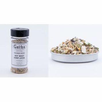 Key West Jump-Jivin' Seasoning Blend by Gerbs - 3.5 oz. Shaker Jar - Top 12 Food Allergen Free - Gourmet Chef Grade