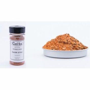 Cajun Style Seasoning Blend by Gerbs - 4 oz. Shaker Jar - Top 12 Food Allergen Free - Gourmet Chef Grade