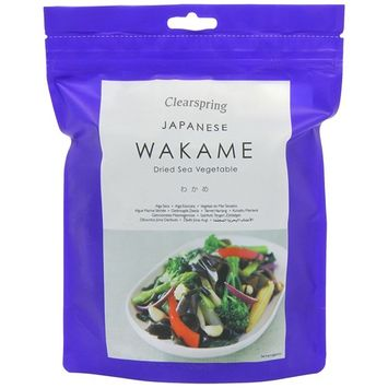 Clearspring - Sea Vegetables - Wakame - 50g