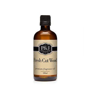 Fresh Cut Wood Fragrance Oil - Premium Grade Scented Oil - 100ml