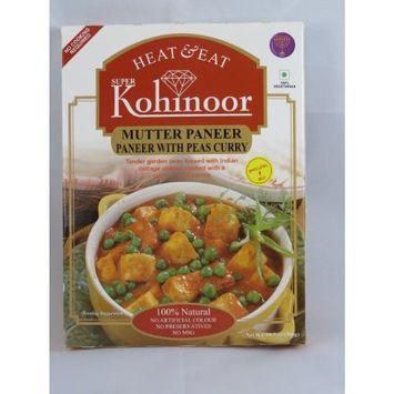 Kohinoor Paneer with Peas Curry (Mutter Paneer)