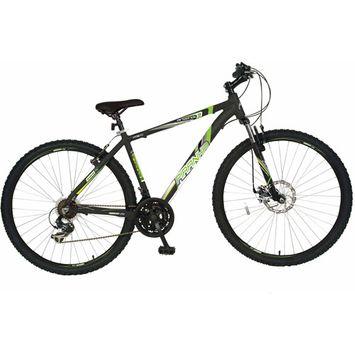 Cycle Force Piranha 19 inch Arsenal 29 Hardtail MTB Bike - Matte Black