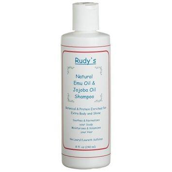 Rudy's Emu Oil And Jojoba Oil Shampoo, 8-Ounce Bottle