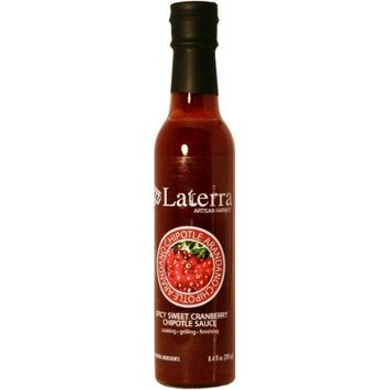 LaTerra Arandano Chipotle Sauce -Spicy, Tart Mexican Cranberry Chipotle Sauce-