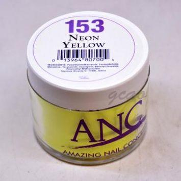 ANC DIP Powder System #153 Neon Yellow 2 oz