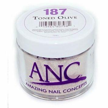 ANC Dip Powder 187 Toned Olive 2 oz