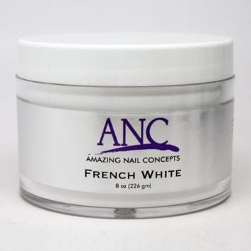 ANC Dip Powder System French White 8 oz FW08