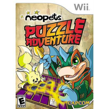 Capcom USA Neopets Puzzle Adventure (Nintendo Wii)