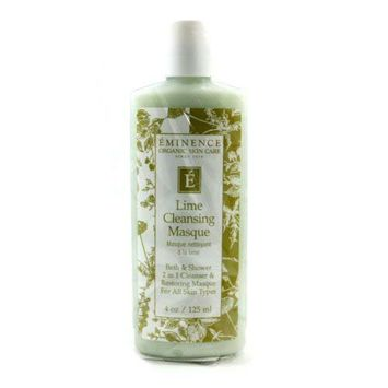 Eminence Organic Skincare 2 in 1 Lime Cleansing Masque and Bath and Shower Cleanser
