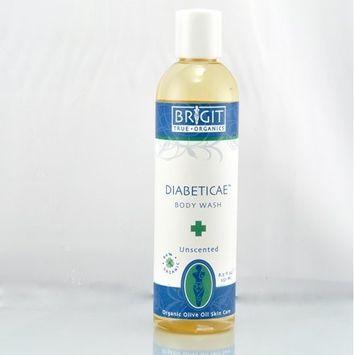 Brigit True Organics- Diabeticae Castile Body Wash, 8.5 fl. oz. (86% ORGANIC)