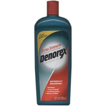 Denorex Dandruff Shampoo For Extra Strength Dandruff Protection, 12 fl oz