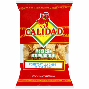 Calidad Mexican Restaurant Style Corn Tortilla Chips