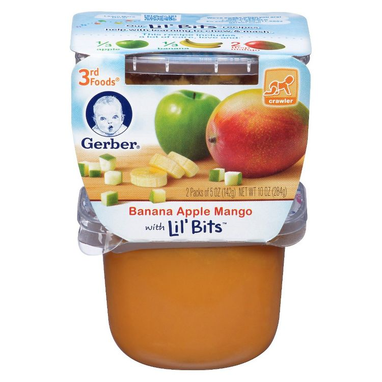 Gerber® 3rd Foods Lil' Bits®  Banana Apple Mango