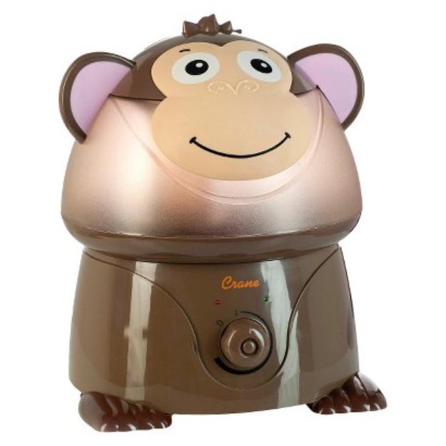 Crane Ultrasonic Cool Mist Humidifier - Monkey