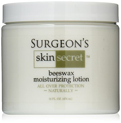 Surgeon's Skin Secret Natural Beeswax Lotion Jar