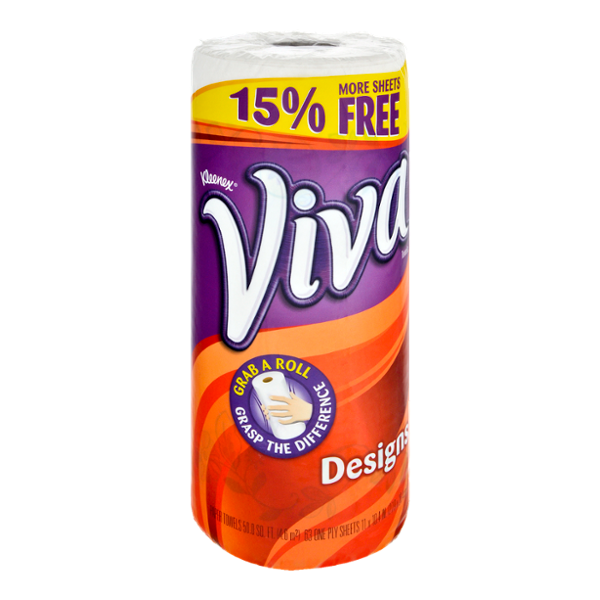 Viva Designs White Paper Towels