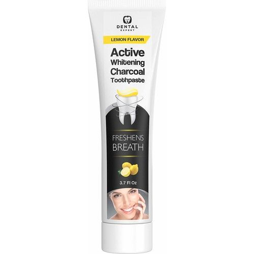 Activated Charcoal Teeth Whitening Toothpaste Coconut Oil Kids