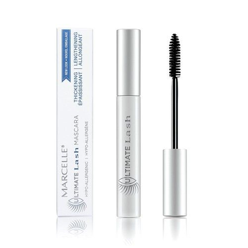 Marcelle Ultimate Lash Mascara Dark Brown Hypoallergenic And Fragrance Free 0 28 Fl Oz Reviews 2020