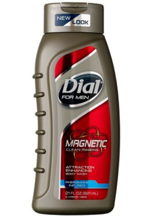 Dial® For Men Magnetic Clean Rinsing Attraction Enhancing Body Wash