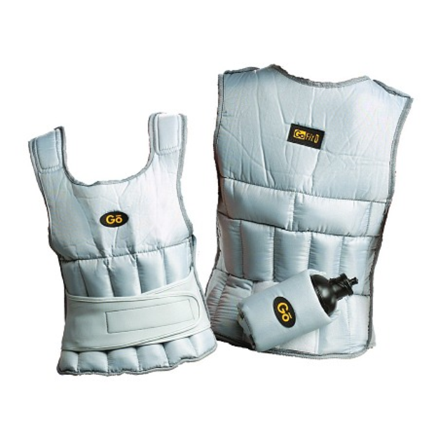 GoFit Unisex Adjustable Weighted Vest With Double Closure System