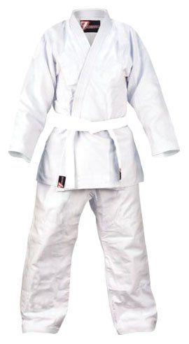 Revgear 00072 M00 Brazilian Jiu Jitsu Uniform - M00 - White