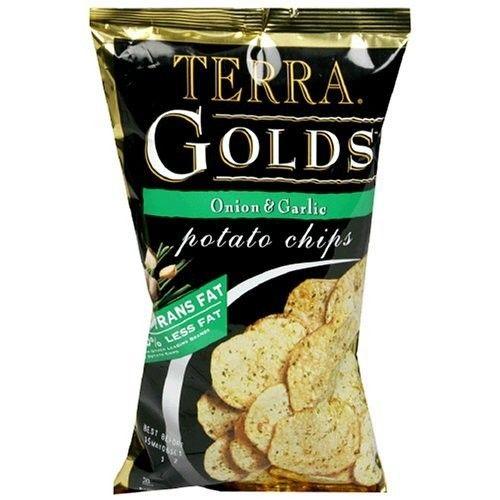 TERRA® Chips Golds Potato Chips Onion & Garlic