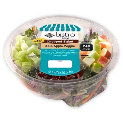 Ready Pac Bistro Kale Apple Chopped Salad Bowl 5.5 oz