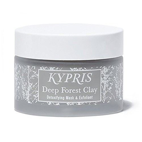 KYPRIS - Natural Deep Forest Clay Detoxifying Mask + Exfoliant (1.55 fl oz/46 ml)