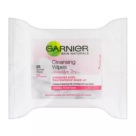 Garnier Skin Naturals Goodbye Dry Cleansing Wipes