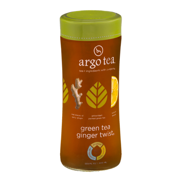 Argo Tea Green Tea Ginger Twist