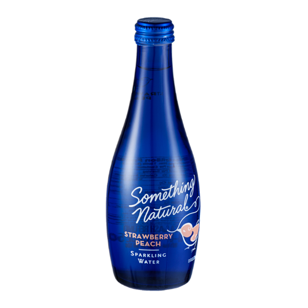 Something Natural Sparkling Water Strawberry Peach