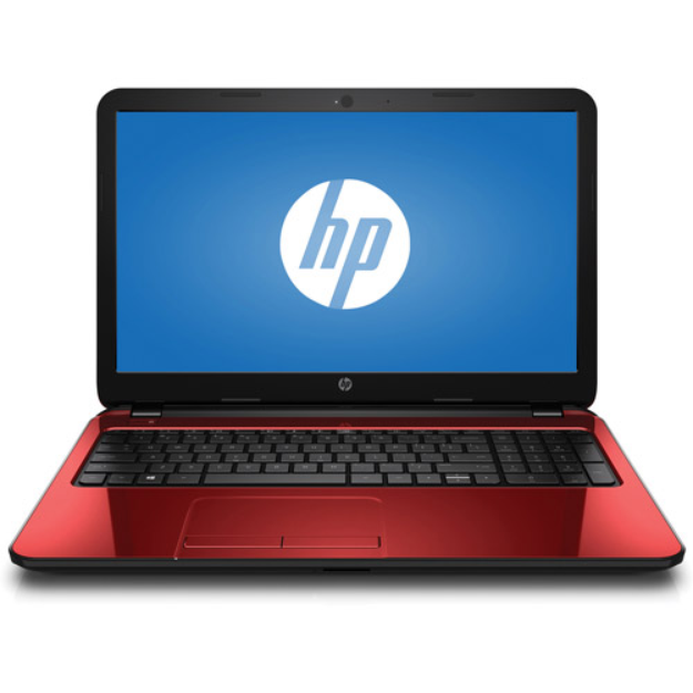 """HP 15.6"""" Laptop PC with Intel Pentium N3520 Processor, 4GB Memory, 500GB Hard Drive and Windows 8.1 (Available in Flyer Red and Black Licorice)"""