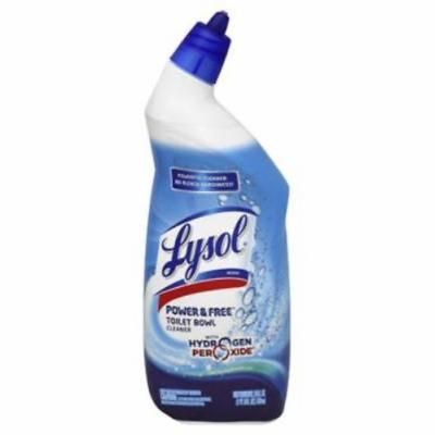 Lysol Power & Free 24 OZ Toilet Bowl Cleaner With Hydrogen Peroxide Co 4PK