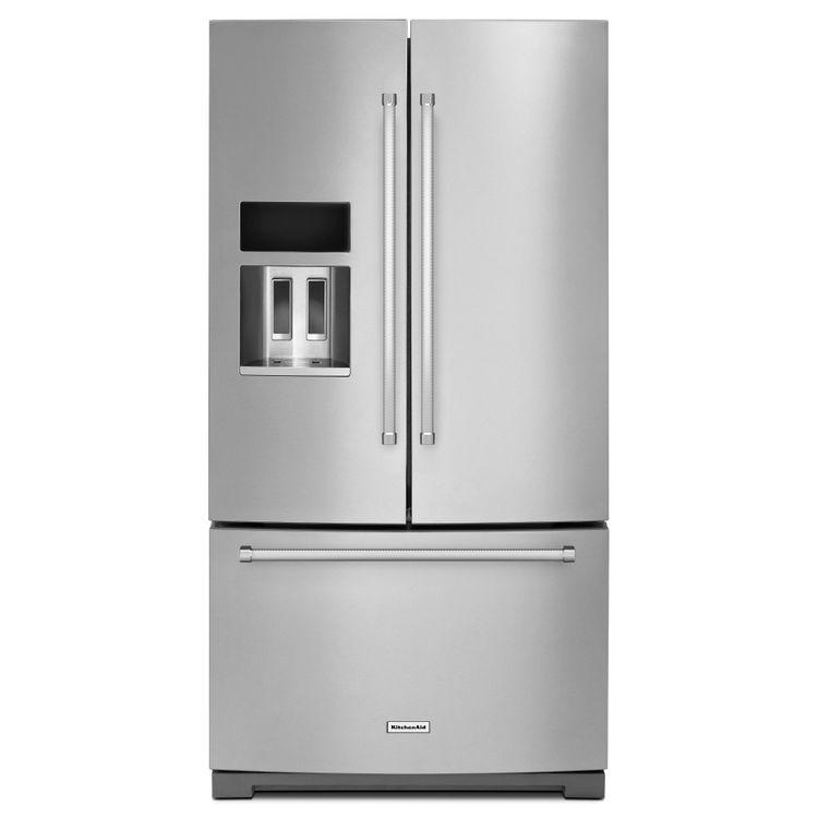 KitchenAid KRFF507ESS 29.0 Cu. Ft. Stainless Steel French Door Refrigerator