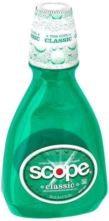 Scope Classic Original Mint Flavor Mouthwash 250mL Bottle