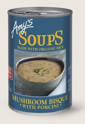 Amy's Kitchen Mushroom Bisque With Porcini